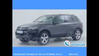 VODIFF : VOLKSWAGEN OCCASION ALSACE : VOLKSWAGEN TOUAREG V6 TDI 3 0 TIPTRONIC 245 CV MOD 2012