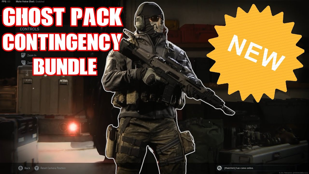 Ghost Pack Contingency Bundle Showcase Modern Warfare Youtube