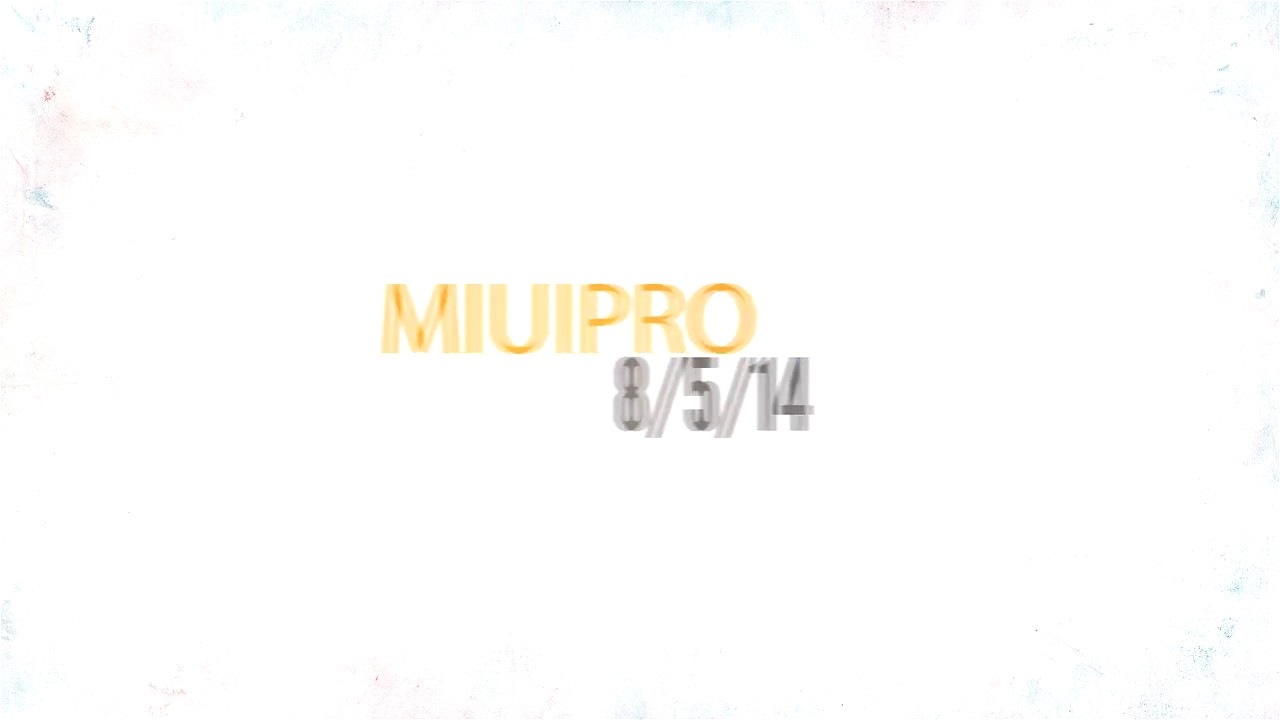 MiuiPro 8 5 14