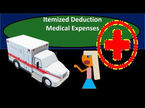 Medical Expenses - Itemized Deduction - Federal Income Tax 2018 2019