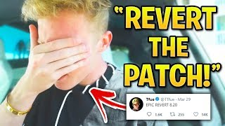 Fortnite Streamers Who HATE Saison 8! (Tfue, Ninja veut Patch Revert)