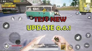 PUBG MOBILE - NEW UPDATE 0.6.1 - NEWS FUTURE IN THE GAMEPLAY - REAL DRIVING-PYSICAL-EXPLOSION..