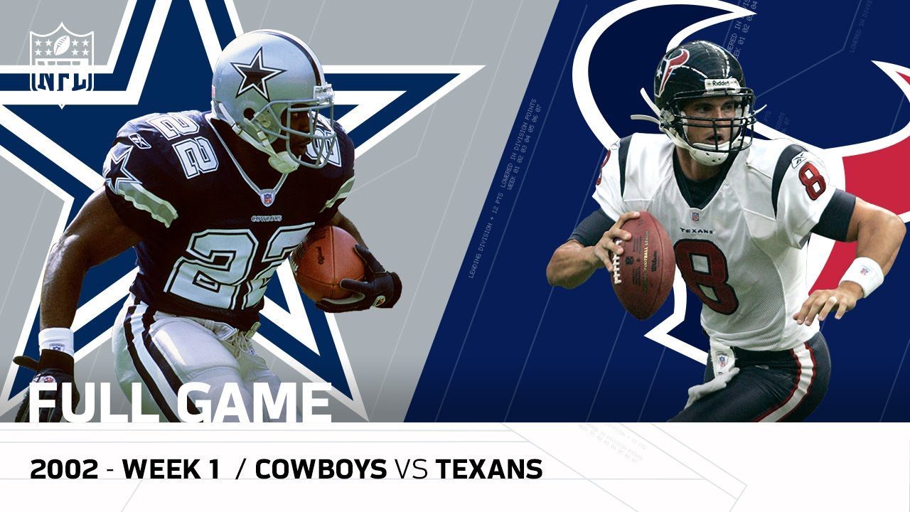Image result for dallas cowboys vs houston texans 2002