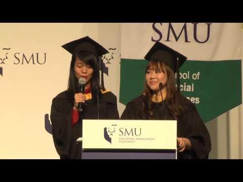 SMU Commencement 2016 - School of Social Sciences Ceremony