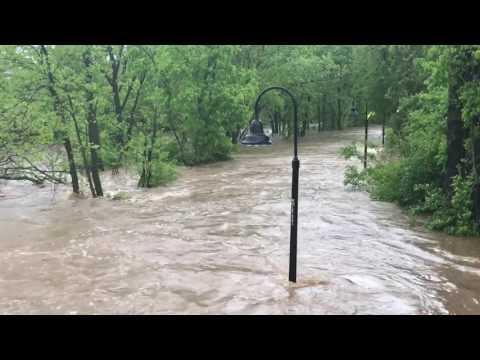 Flooding South School in Fayetteville