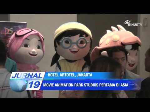 [Liputan] Movie Animation Park Studios Pertama di Asia