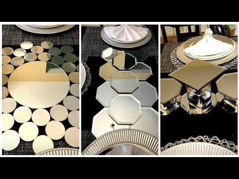 Dollar Tree DIY - 💕 Mirrored Table Runners/Centerpieces 💕