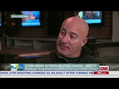 Weather Channel, DirecTV in stormy relationship
