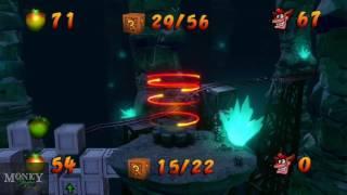 Money Plays: Crash Bandicoot N. Sane Trilogy- Stormy Ascent 100% Clear Gem Playthrough