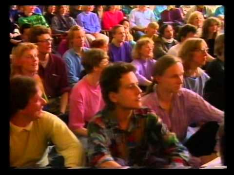 "TV documentary about ""The Power of Visions"" Festival in Potsdam and Berlin in 1991, part 1"