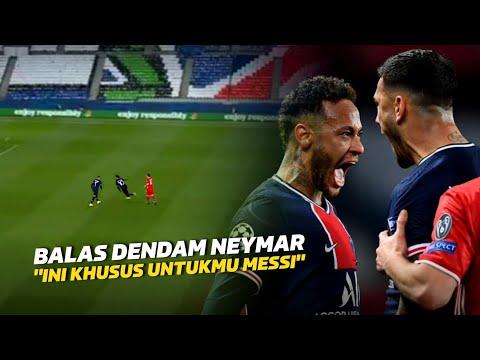 SUKSES BALASKAN DENDAM‼️Lihat Selebrasi Neymar Jr Usai Kalahkan Bayern Munich Semalam