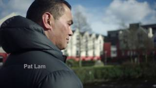 Pat lam - connaught coach & tackle your feelings ambassador