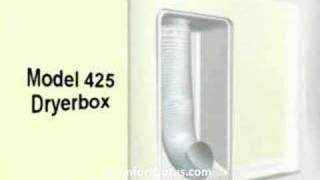 The Dryerbox - Recessed Dryer Vent Box
