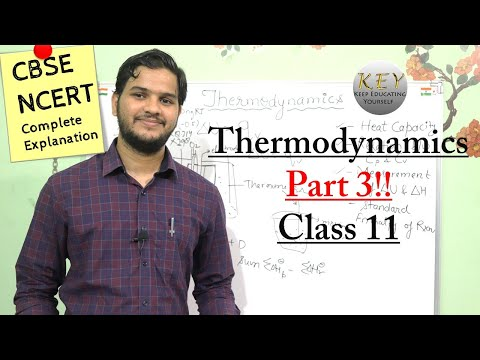 Thermodynamics Chemistry Class 11, NCERT Chapter 6 Part- 3 In Hindi/اردو