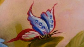 PINTANDO BORBOLETA por Shirley Sbeghen