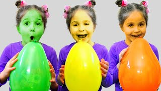 Nadia Pretends to play with his Magic Pen - Preschool toddler learn color | أغاني الاطفال |동요와 아이 노래