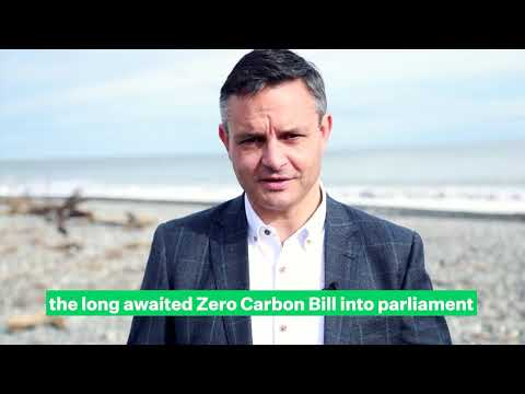 Zero Carbon Bill launched | Green Party NZ