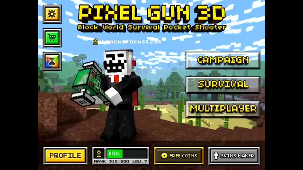Pixel Gun 3D Unlimited Coins Glitch [IOS] [EASY METHOD ...Copy And Paste Symbols For Pixel Gun 3d