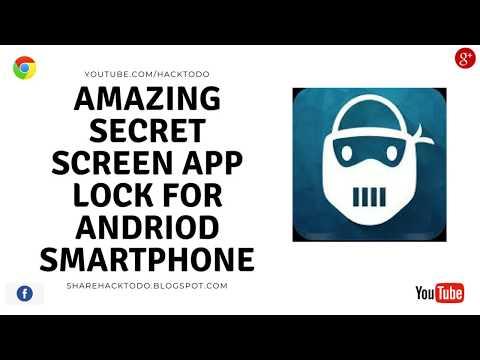 amazing Secret Screen app lock for android smartphone