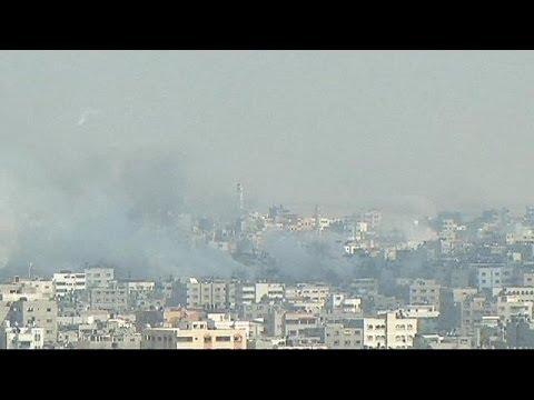 Israeli bombing in Gaza intensifies as Palestinian death toll mounts