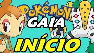 Pokémon Gaia (Hack Rom) - O Início (Gameplay em Português)