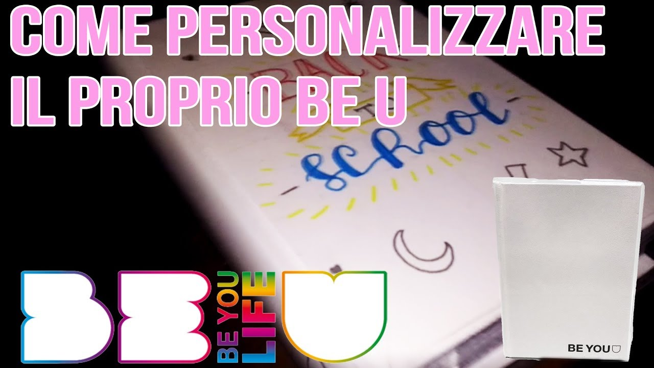 Back to school come decorare il proprio diario be u 2018 for Decorazione be u