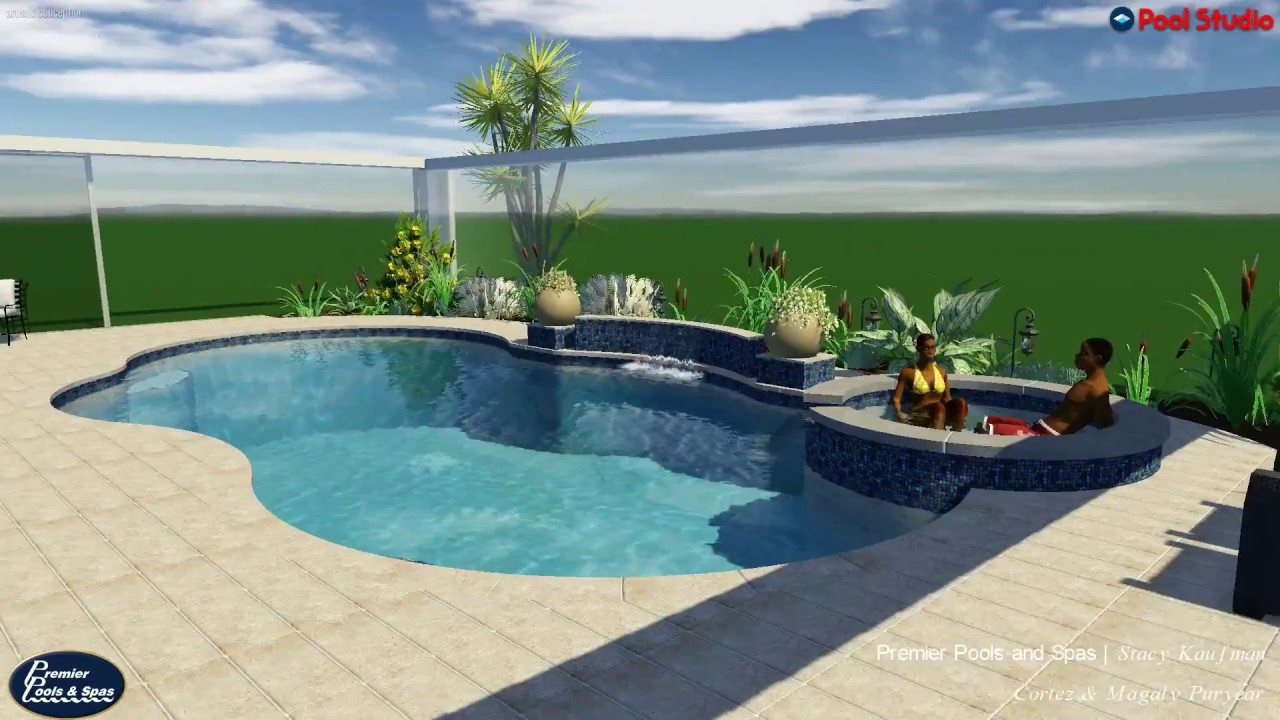 Premier Pools Spas New Pool Project For Cortez And Magaly Youtube
