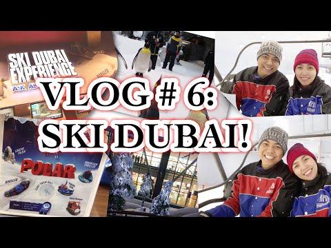 VLOG # 6: Ski Dubai Experience! Skiing in Dubai.