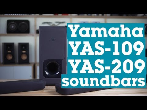 Yamaha YAS-109 And YAS-209 Soundbars | Crutchfield