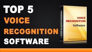 Best Voice Recognition Software - Top 5 List