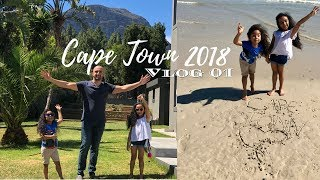 ✨ FIRST IMPRESSIONS OF CAPE TOWN - Cape Town Vlog 1 - STRAND BEACH - Travelling The World With Kids
