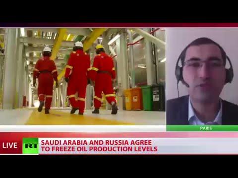 Russia, Saudi Arabia agree to freeze oil production