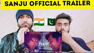 Pakistani reacting on Sanju official trailer by|pakistani bros reactions|
