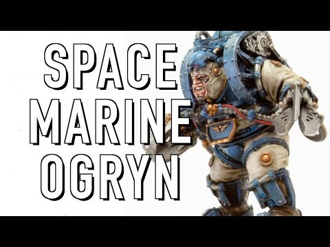 Spacemarine Ogryns in Warhammer 40K