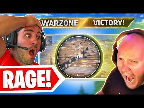 When Playing Warzone with Timthetatman goes WRONG Fast...😡