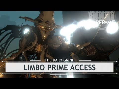Warframe: Limbo Prime Access - OFFICIAL Stats &  Drop Locations [fanboying]
