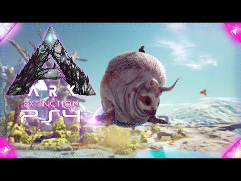 Gasbag zähmen mit der Faust 🔞 ARK Extinction Playstation 4 🇩🇪