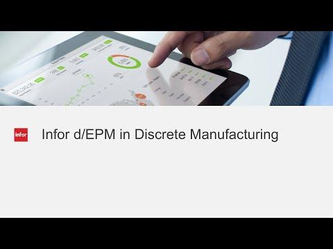 Infor d/EPM in discrete manufacturing