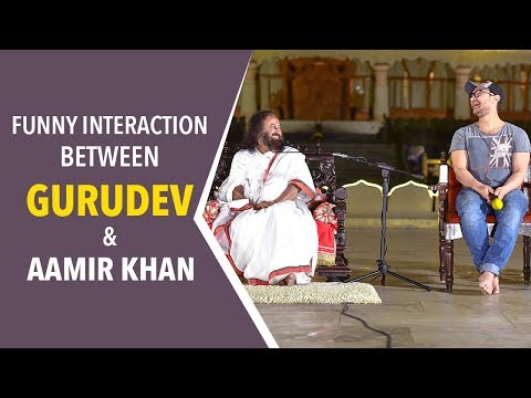 Aamir Khan Wants To Know About Love From Gurudev. His Answer Will Surprise You!