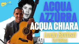 Acqua Azzurra Acqua Chiara - Lucio Battisti - Chitarra - Facile