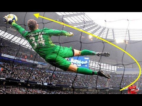 【サッカー】キーパーのスーパーセーブでチームを救った瞬間がカッコ良すぎ【スーパープレイ】Soccer Football - Goalkeeper Super Saves
