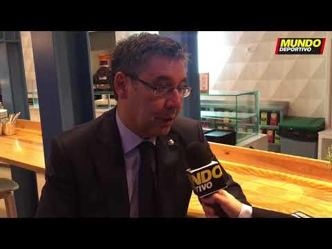 Entrevista exclusiva de Josep María Bartomeu para Mundo Deportivo