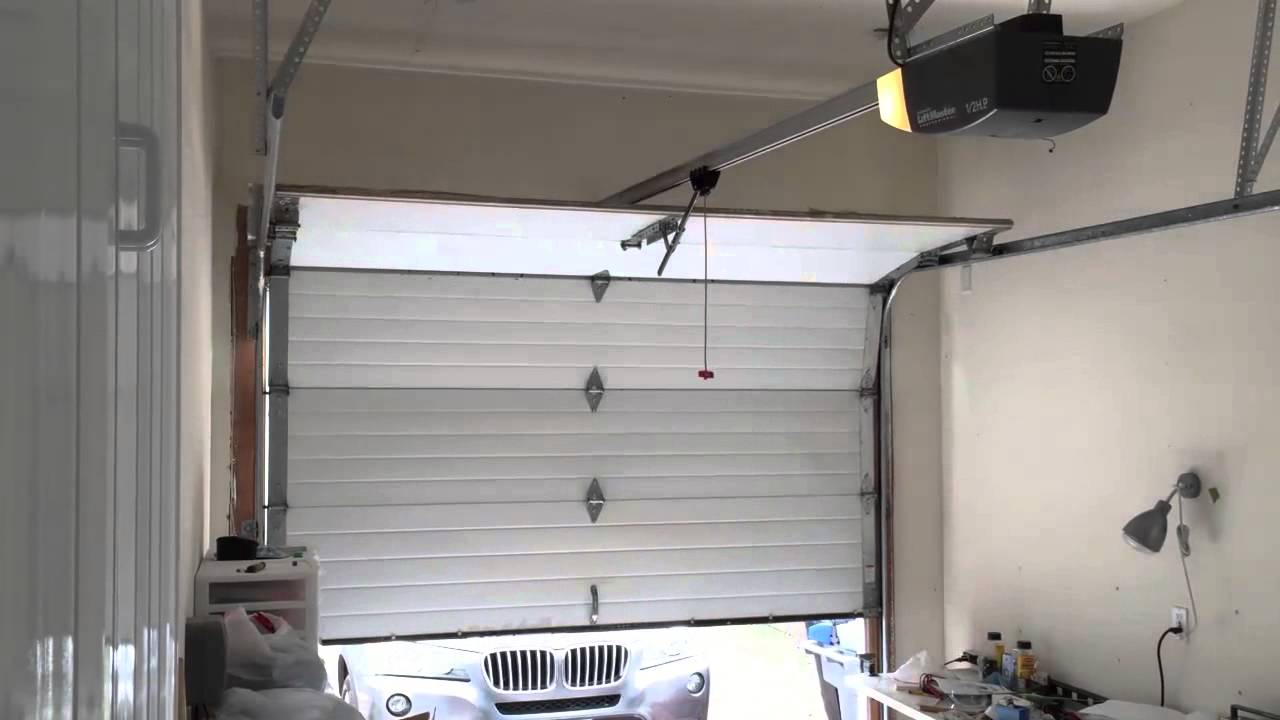 Garage door opener chamberlain liftmaster 2000sdr youtube rubansaba