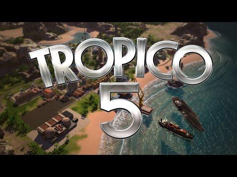 Tropico 5 #15 Centrale nucleare,Programmi spaziali, uragani e vaii!!!  