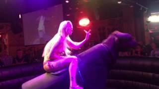 5/17 Bikini bull riding gilleys Las Vegas