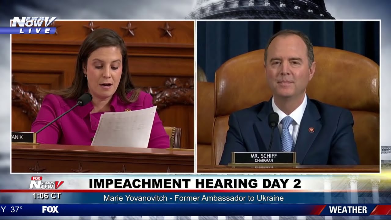 STEFANIK GOES AFTER SCHIFF: Explosive moments during impeachment hearing day 2