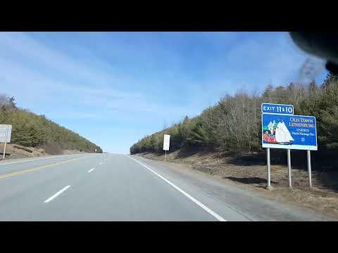 Driving from Bridgewater to Halifax Nova Scotia