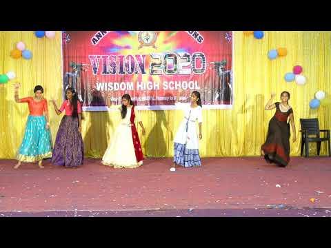Wisdom High School,Raikal. SSC Girls Dance Performance