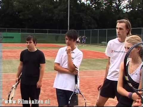 Tennisvereniging Altec viert 65-jarig bestaan met tennisclinic verzorgd door Jacco Eltingh