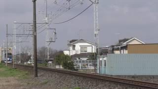 東武60000系61618F(交安HM)藤の牛島~南桜井通過